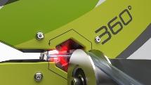 Optische 360°-Inline-Messung des Innendurchmessers medizinischer Schläuche