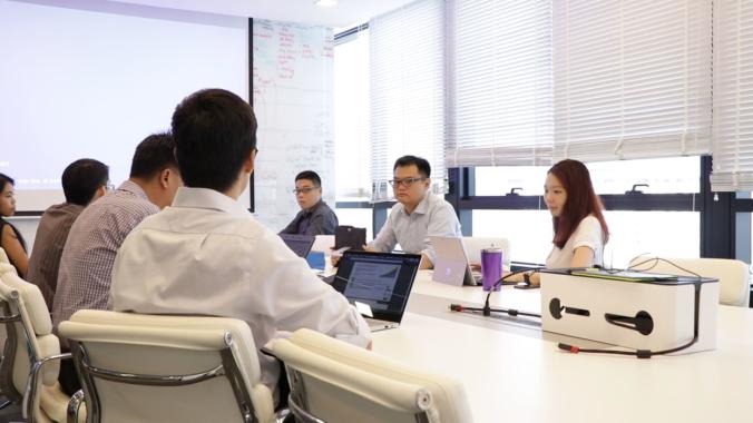 K2019 Aussteller Ge-Shen's Erfolgsformel -Mitarbeiter