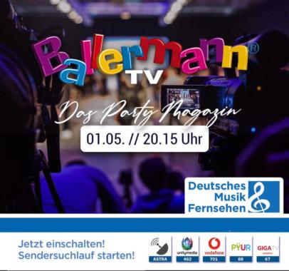 BALLERMANNs NEUES PARTY-MAGAZIN
