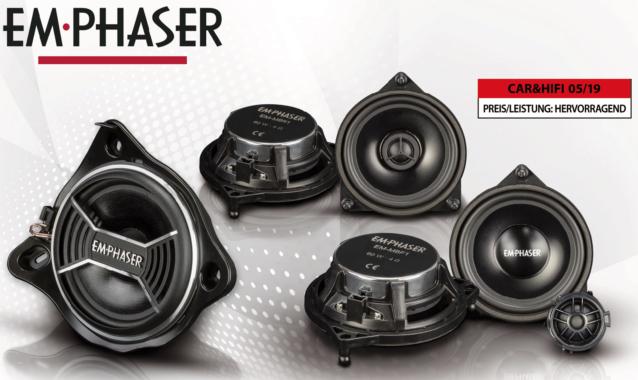 Soundupgrade – EMPHASERs Lautsprecher für Mercedes