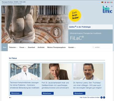Endlich eine moderne Lasertherapie: FiLaC bei Anal- und Steißbeinfisteln und Akne Inversa