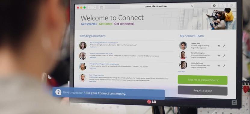 Connect: BCD Travel launcht digitale Plattform für Geschäftsreisekunden