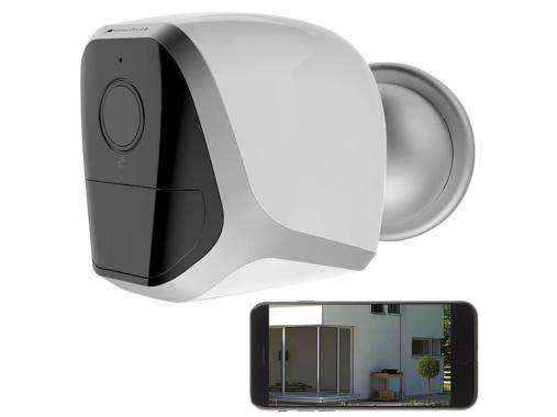 VisorTech Full-HD-IP-Überwachungskamera IPC-680