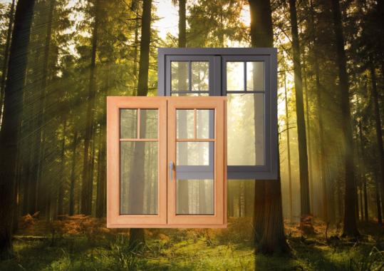 Das neue GAYKO Hybrid Fenster – Typ GAYKOWOODLINE