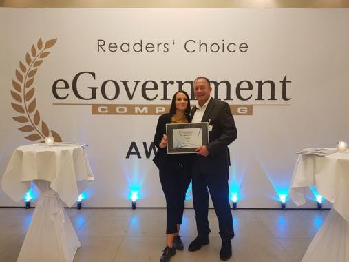 OPTIMAL SYSTEMS beim e-Government Computing Award 2019 ausgezeichnet