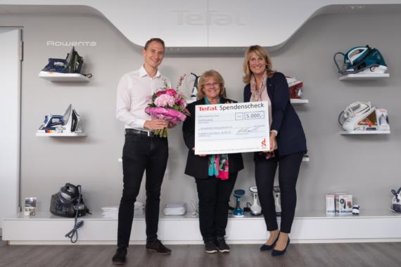 Tefal: Erfolgreiche Spendenaktion für Brustkrebs Deutschland e.V.