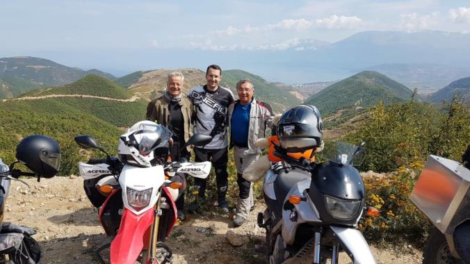 Albanien Spendentour der Motorrad-Ecke