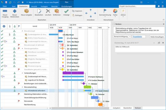 InLoox 10.2 verfügbar – vereinfachte Kommunikation und beschleunigtes Arbeiten in Projekten
