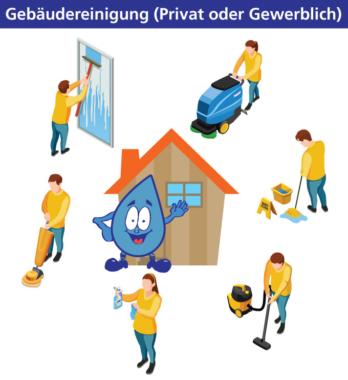 Webseite für Reinigungsservice erstellen