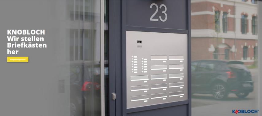 Briefkastenanlagen selber konfigurieren – ganz einfach