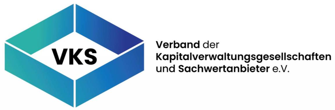 Konstituierende Gründungsveranstaltung VKS Verband der Kapitalverwaltungsgesellschaften und Sachwertanbieter