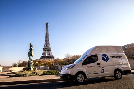 Mobilitätsmanagement: Fraikin Group unterstützt Chronopost beim Pariser Klimaschutz