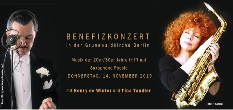 Tina Tandler und Henry de Winter am 14.11.2019 in Berlin