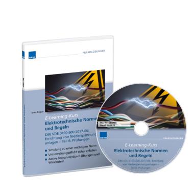 Neu: E-Learning-Kurs zur Unterweisung der Anforderungen der Norm DIN VDE 0100-600