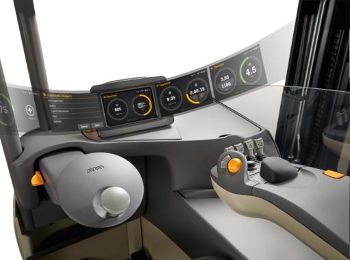Crown stellt mit Gena ein völlig neues Stapler-Betriebssystem vor