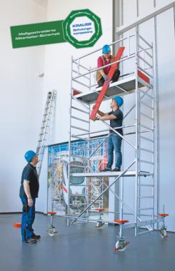 Safety first: KRAUSE bietet spezifische Steigtechnik-Schulungen