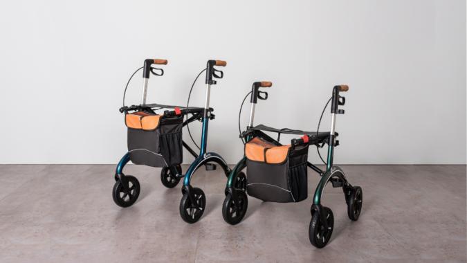 SALJOLs Carbon Rollator: Ideal für sehr große und sehr kleine Erwachsene
