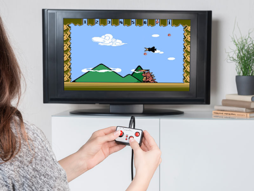 MGT Mobile Games Technology Retro-Videospiel-Controller