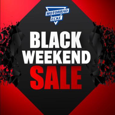 Der Ausverkauf des Jahres – BLACK WEEKEND SALE bei der Motorrad-Ecke