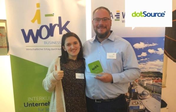 dotSource für beispielhafte interkulturelle Öffnung mit dem i-work business Award ausgezeichnet
