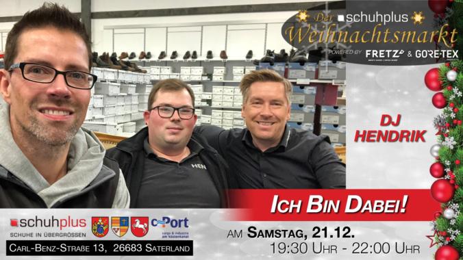 DJ Hendrik unterstützt den ersten schuhplus – Weihnachtsmarkt in Sedelsberg musikalisch