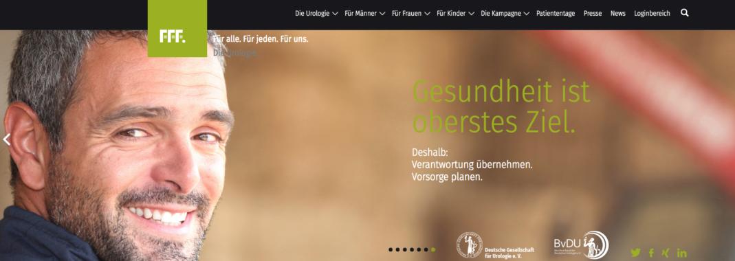 urologie-fuer-alle.de – erfolgreich ins 4. Jahr