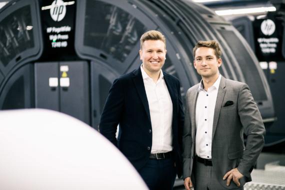 Generationswechsel beim Druckspezialisten Elanders GmbH