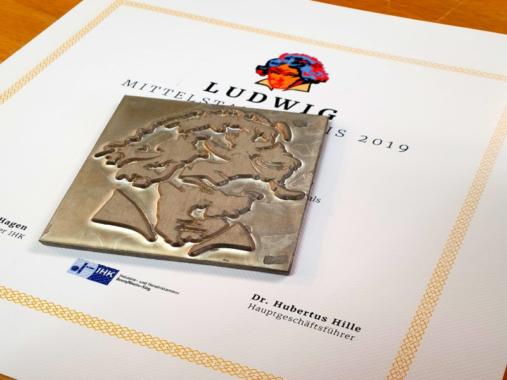 """Hofgartenmanufaktur begleitet erneut Mittelstandspreis """"Ludwig"""""""