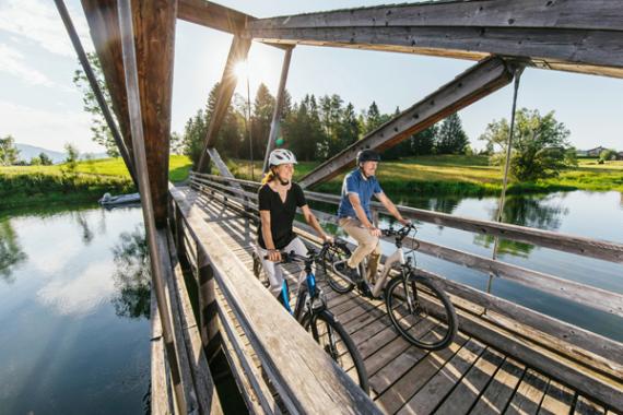E-Biken ist wie Radfahren – nur besser