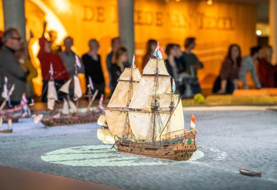 Reede von Texel: Interaktive Ausstellung erweckt Seefahrthistorie zum Leben