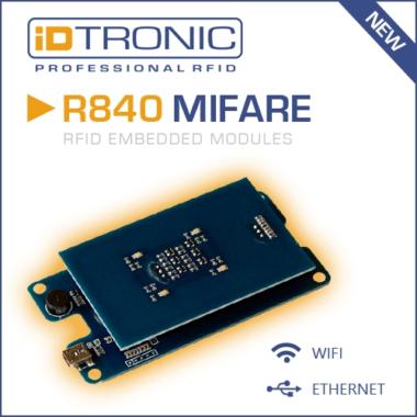 iDTRONICs Embedded HF MIFARE RFID Reader R840