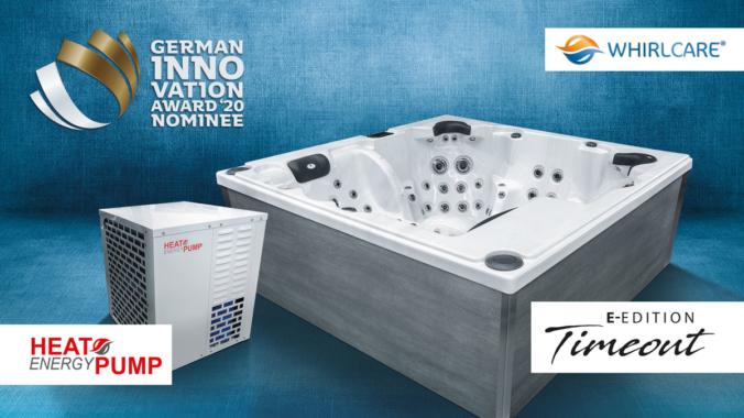 Whirlcare zweimal für German Innovation Award nominiert