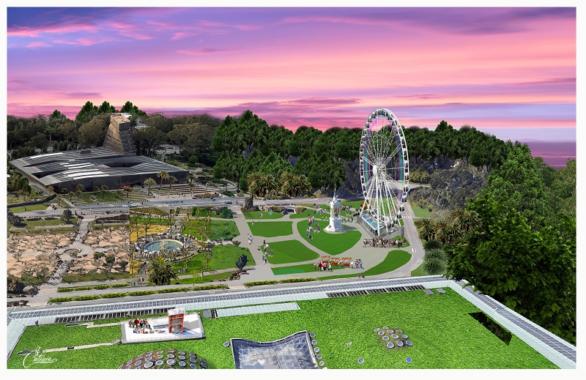"""150 Jahre Golden Gate Park – San Francisco feiert """"Everybody""""s Park"""" mit einem Aussichtsrad"""