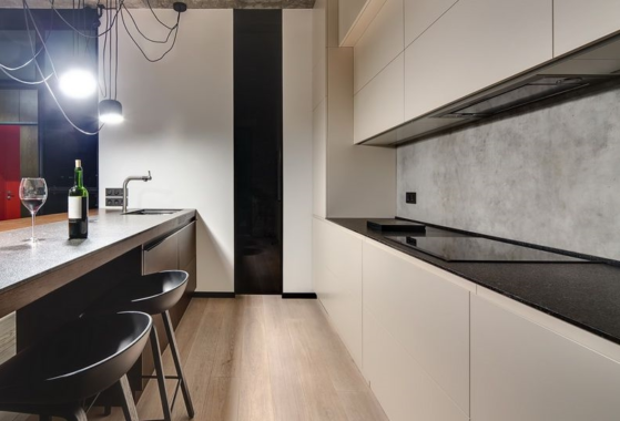 Küchenrückwand aus Beton – exklusiv und zeitlos