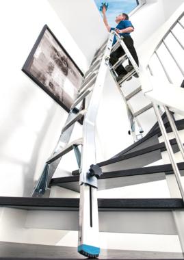 KRAUSE Gelenkleitern – Echte Alleskönner für Heim, Handwerk und Industrie
