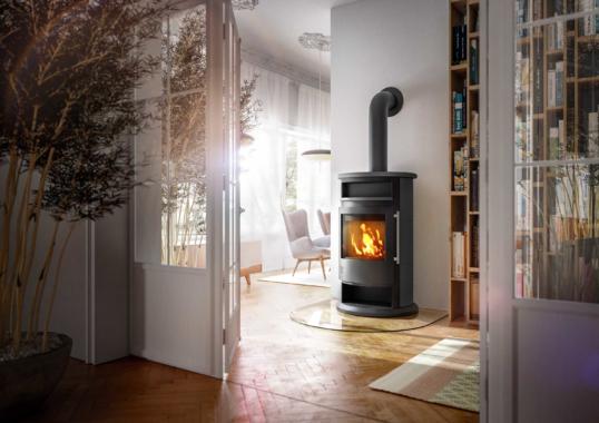 Der Feuerraum-Riese für klimaneutrale Wärme aus Holz