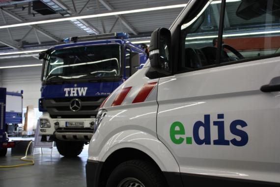 E.DIS und THW kooperieren: mehr Sicherheit fürs Stromnetz