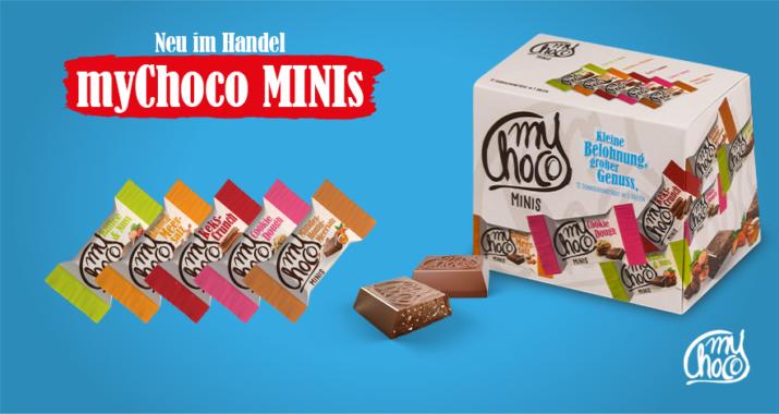 Neu im Handel: Die myChoco MINIS