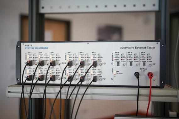 Automotive Ethernet Tester für hochautomatisiertes Testen