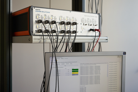 Automotive Ethernet Tester for Highly-automated Testing