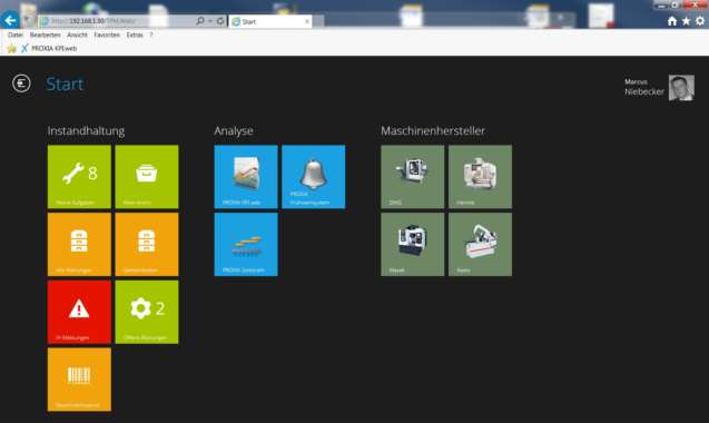 PROXIA TPM.web – Instandhaltungsplanung leicht gemacht!