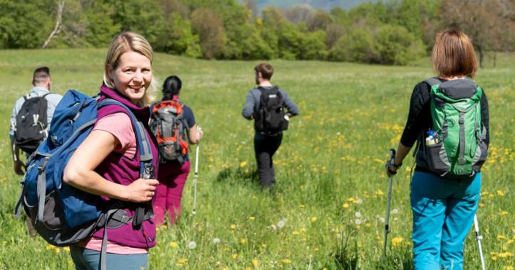 """Wikinger-Marathon 2020: """"Wandern fürs Klima"""""""