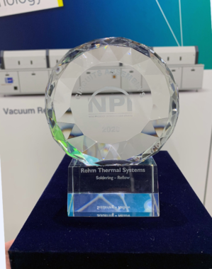 Rehm Thermal Systems wins the NPI Award