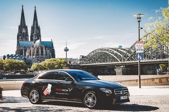 Mit FREE NOW Ride von Köln nach Paris