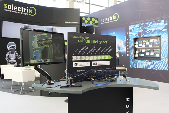 Solectrix Embedded Highlights auf der Embedded World 2020