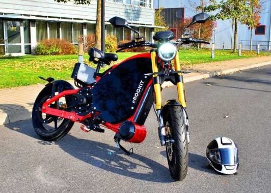 eROCKIT: Emissionsfreies Kraftpaket mit Pedal-Power!