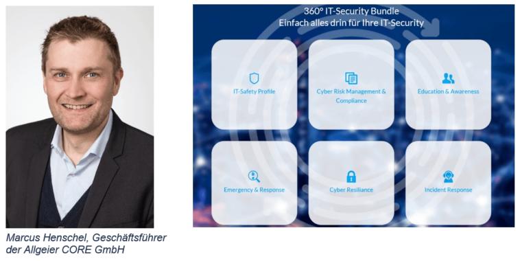 Allgeier CORE präsentiert 360° IT-Security Bundle