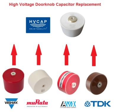 HVC Capacitor: 1:1 Hochvolt-Doorknob Kondensatoren alternativ zu Vishay, TDK, AVX, Murata