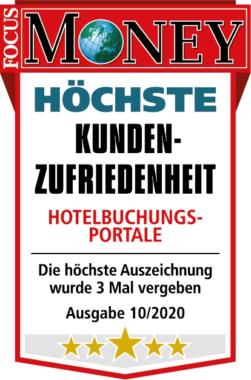 Focus Money zeichnet ehotel für höchste Kundenzufriedenheit aus