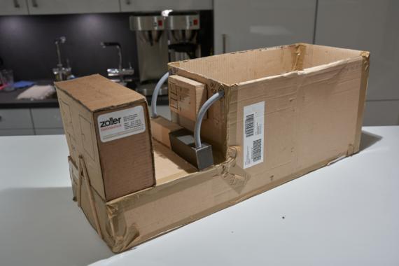 Gülle-Container hält Ausbringungskette am Laufen